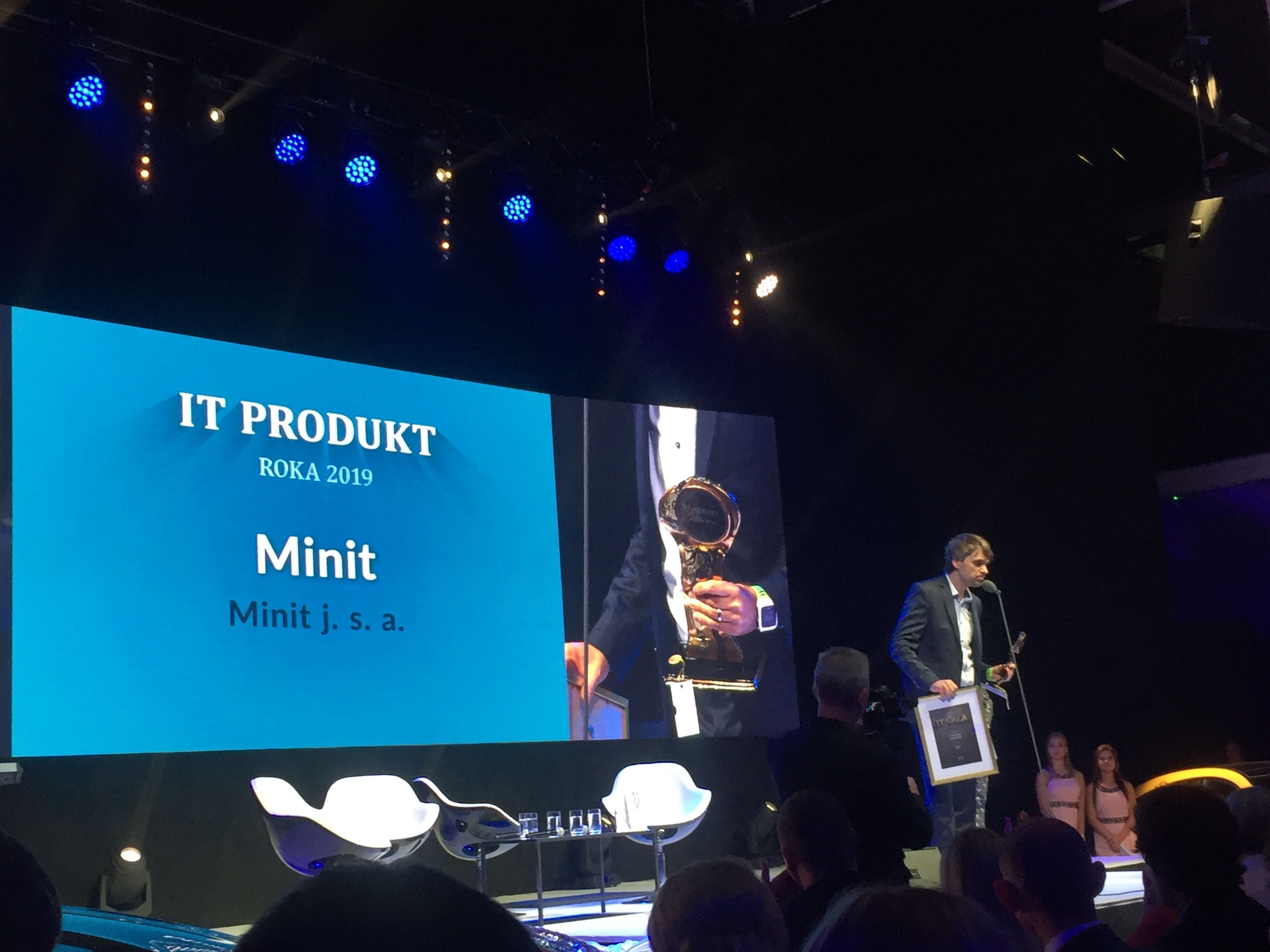 A New Investment and the IT Product of the Year IT GALA Winner Minit