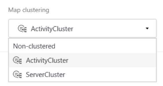 Map Clustering Controls in Minit Process Mining